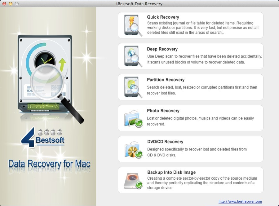 4Bestsoft Data Recovery For Ma