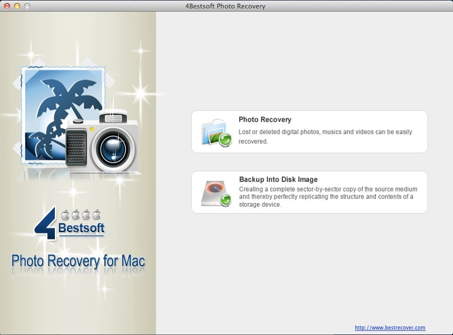 4Bestsoft Photo Recovery For Mac