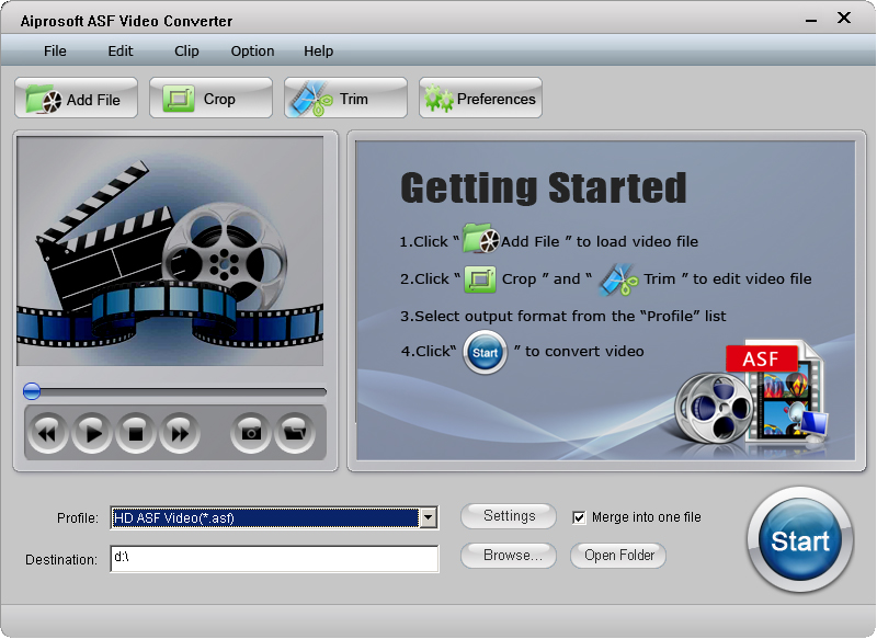 Aiprosoft ASF Video Converter