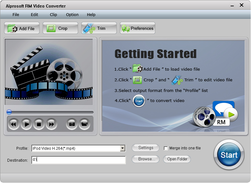Aiprosoft RM Video Converter