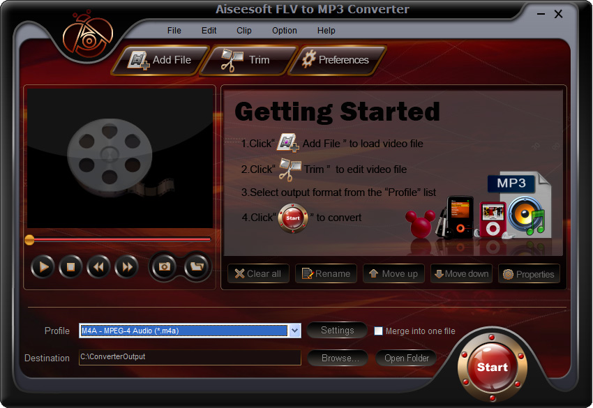 Aiseesoft FLV to MP3 Converter