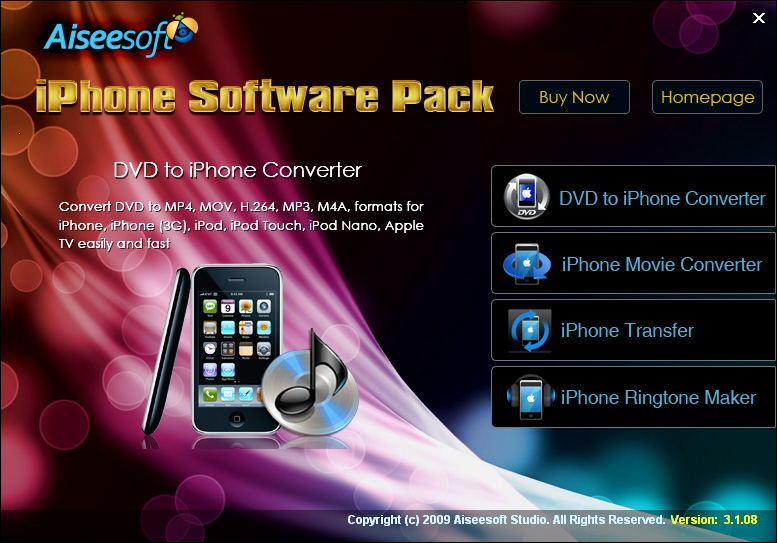 Aiseesoft iPhone Software Pack