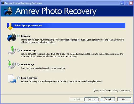 Amrev Photo Recovery (Win)