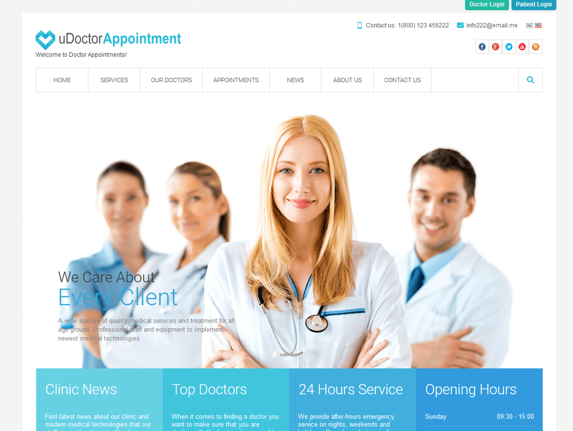 uDoctorAppointment