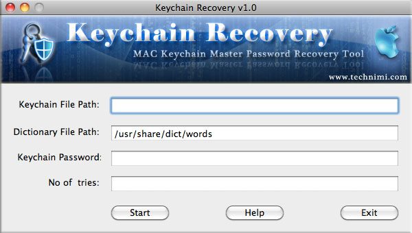 Keychain Recovery