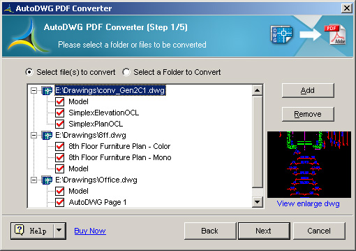 DWG to PDF Converter ActiveX
