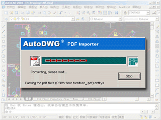 PDF to DWG converter aXsware sloution - DE