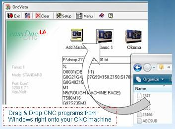 easyDnc 4.7 DNC Software Bundle with CNC Editor