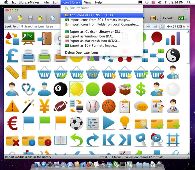 IconLibrary Maker for Mac