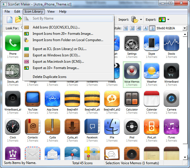 IconLibrary Maker for Windows