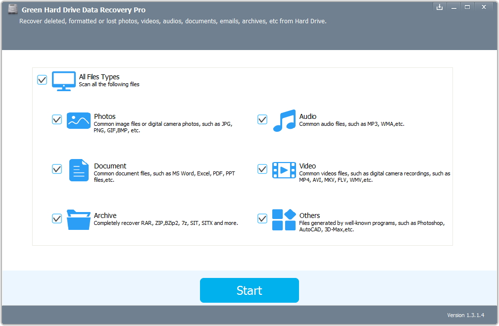 Green Hard Drive Data Recovery 1 Year License