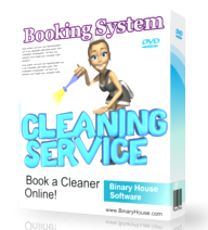 Booking System For Cleaning Service - 1Year