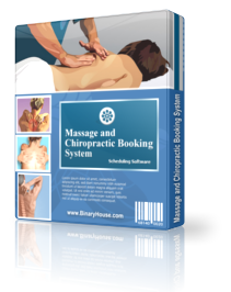 Massage and Chiropractic Booking System - 1Month