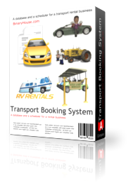 Transport Booking System - One Year Subscription