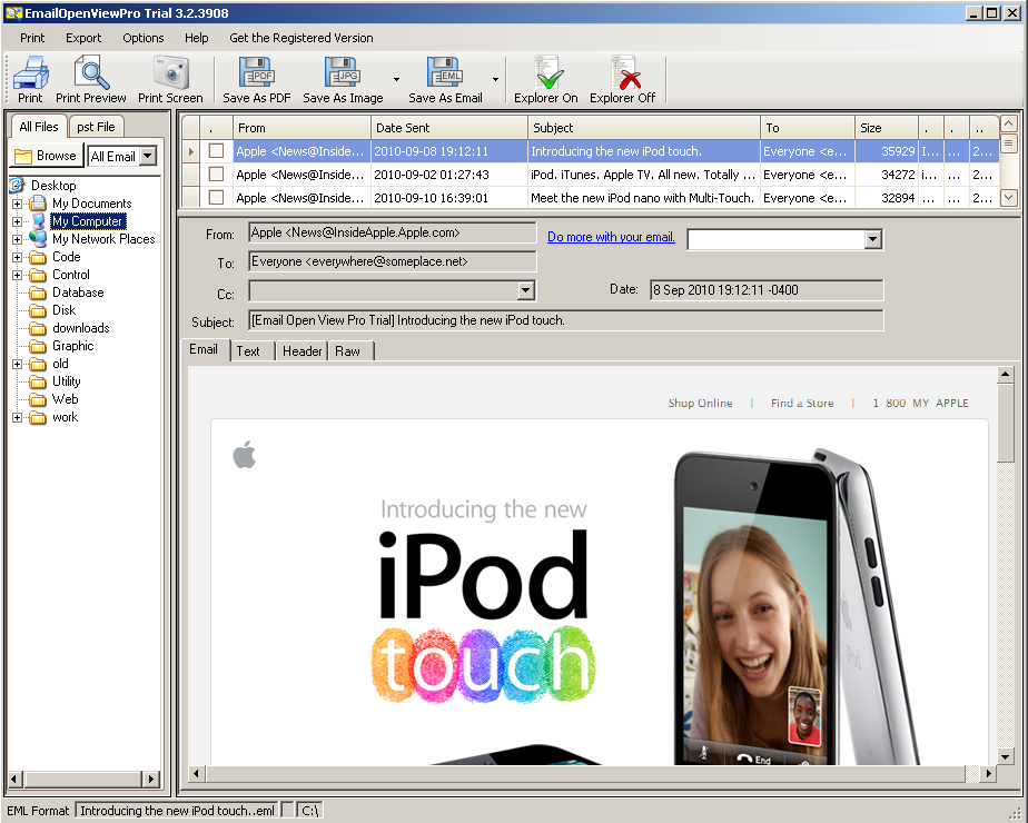 EmailOpenViewPro