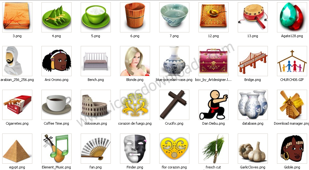 Culture Traditional Icons