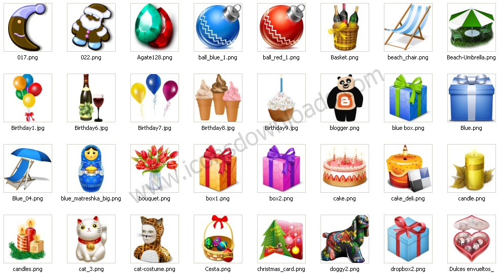 Gifts Icons