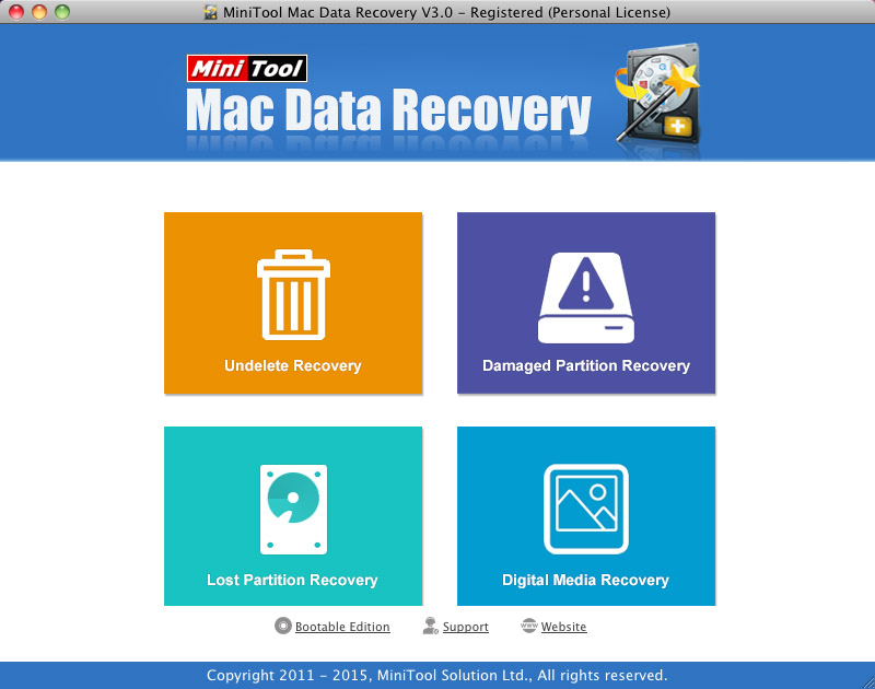 Mac Data Recovery - Personal License