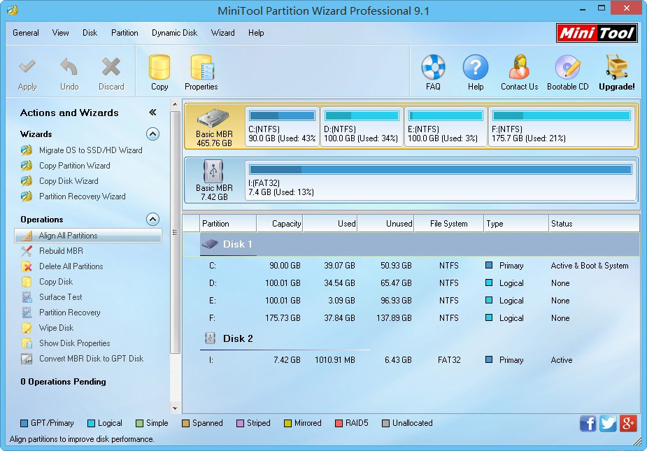 MiniTool Partition Wizard  Pro  Ultimate