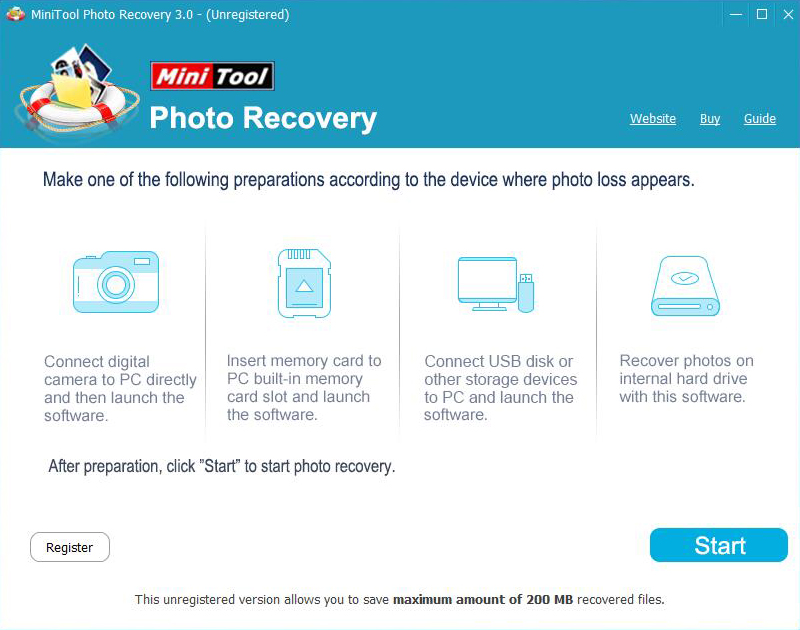 MiniTool Photo Recovery  Deluxe
