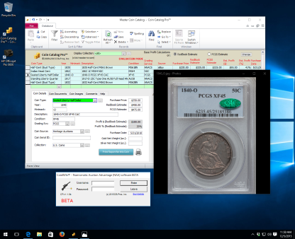 Coin Catalog Pro - Coin Collecting Software