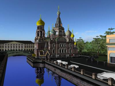 Church of the Saviour on the Spilled Blood 3D