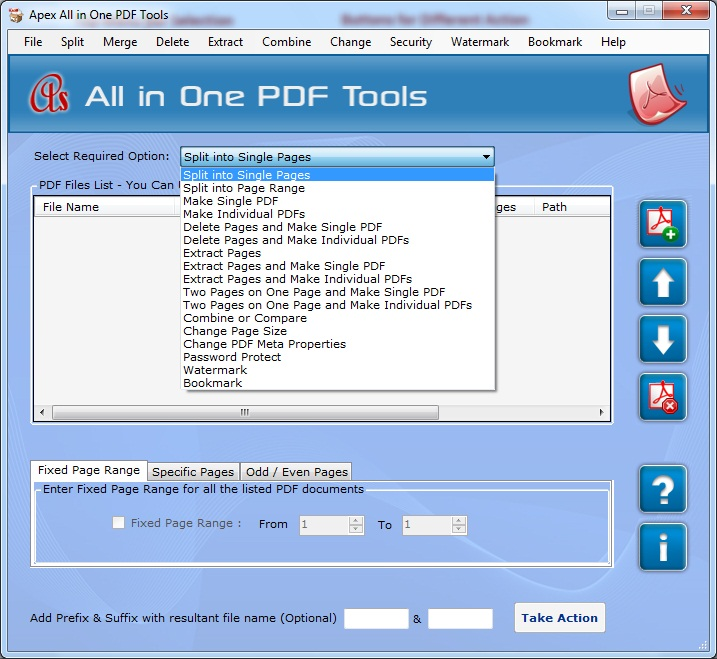 Apex All in One PDF Tools