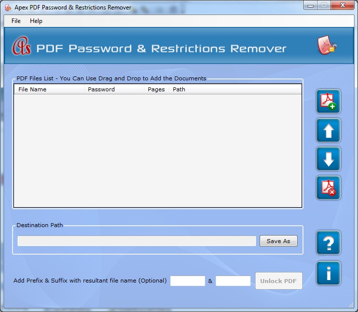 Apex PDF Password & Restrictions Remover - Business License