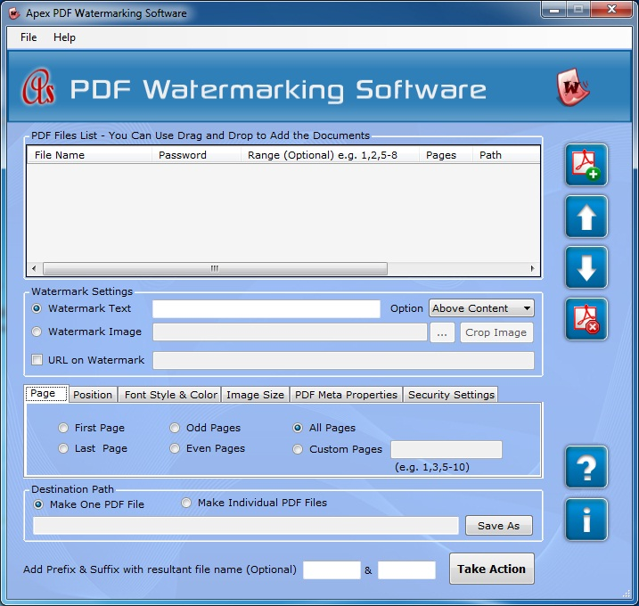 Apex PDF Watermarking Software - Business License