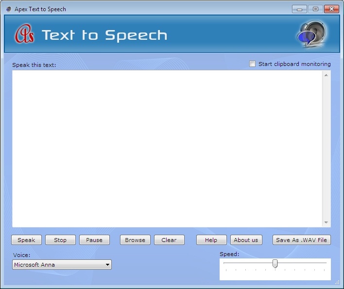 Apex Text to Speech