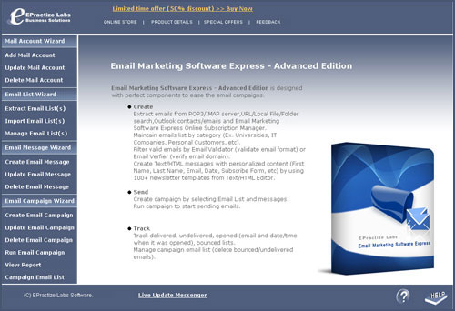 Email Marketing Software Express Advanced