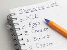 FAMILY GROCERY LIST
