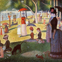 Post-Impressionism Art Screensaver - 825 Paintings  by over 100 Artists in One Screensaver