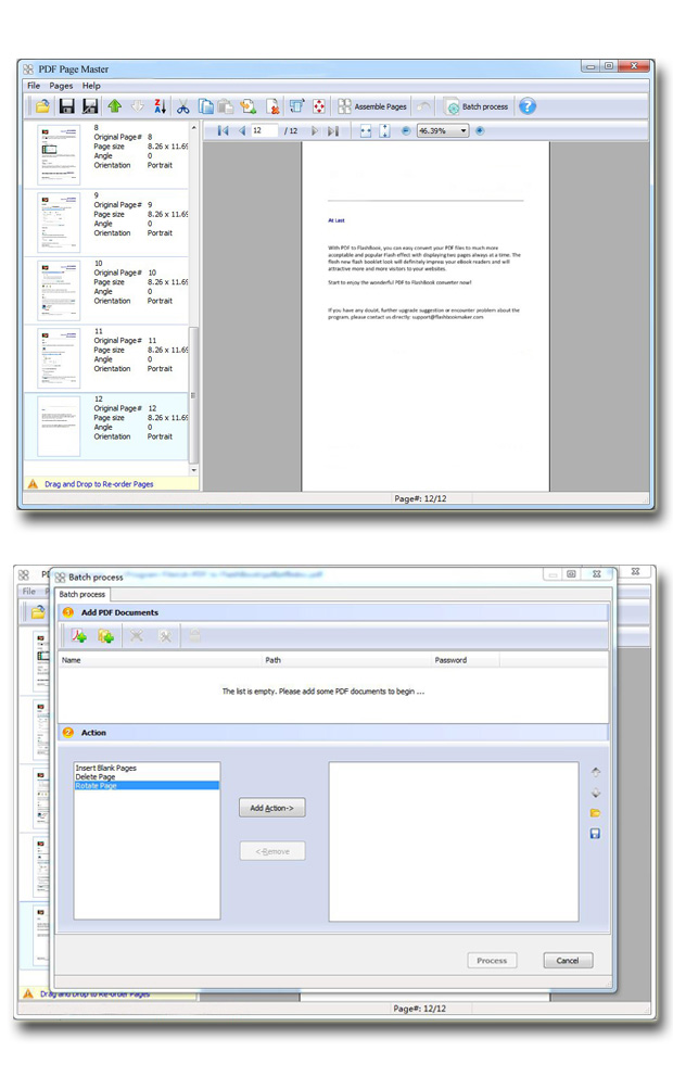 Easy PDF Page Master