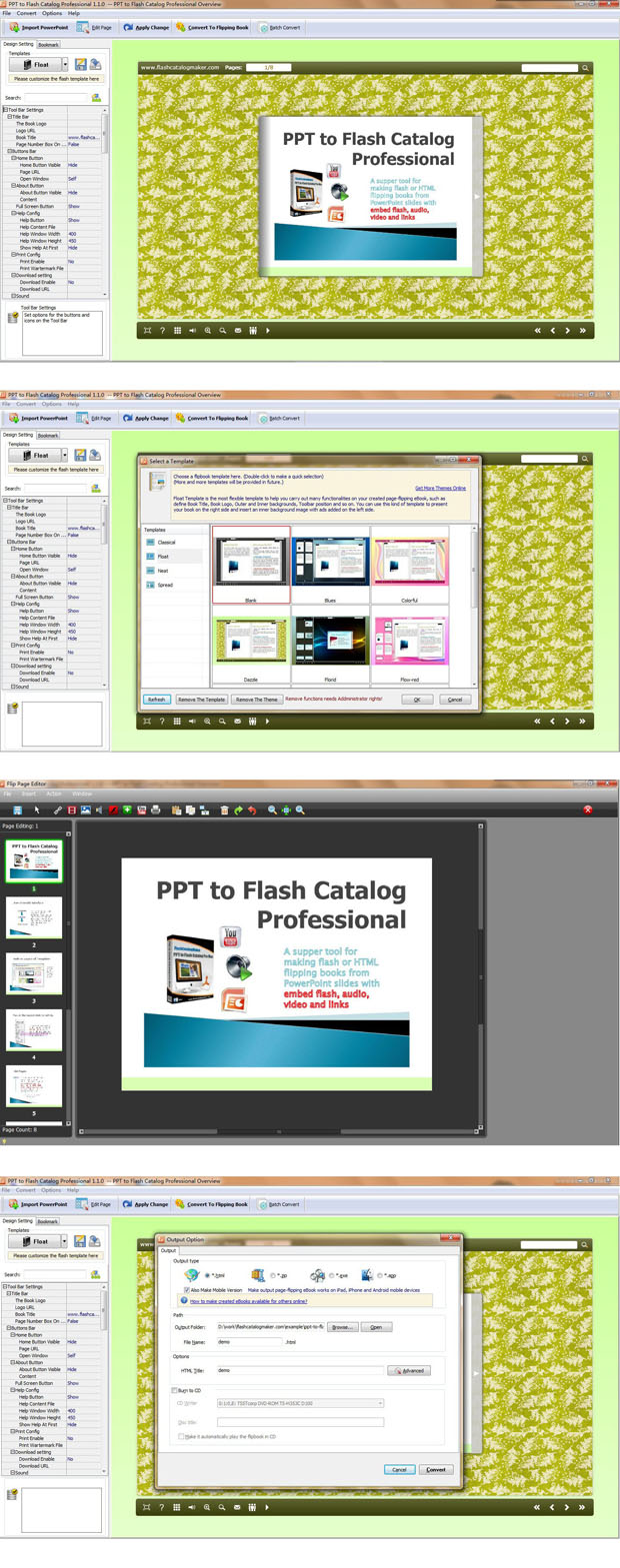 PPT to Flash Catalog Pro