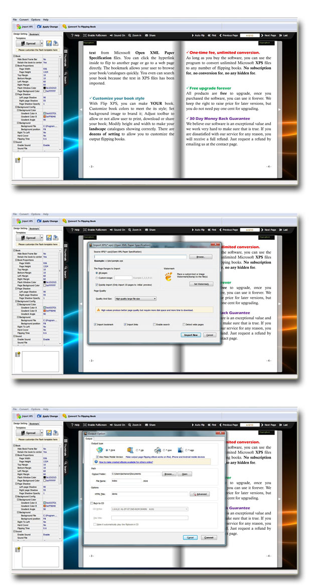 XPS to Flash Converter
