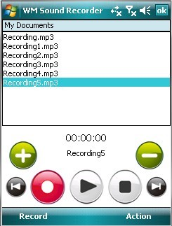 WM Sound Recorder