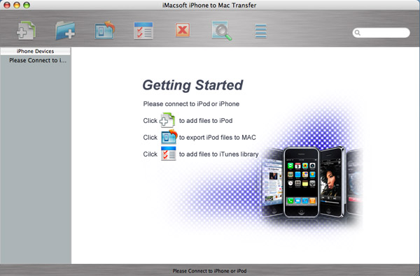 iMacsoft iPhone to Mac Transfer