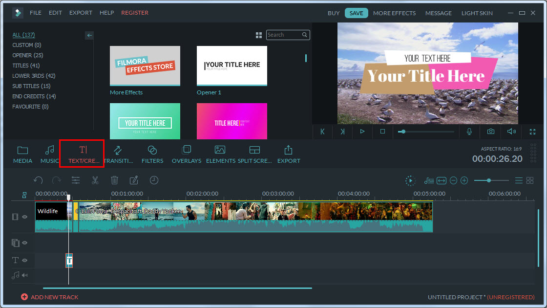Filmora Video Editor for Mac
