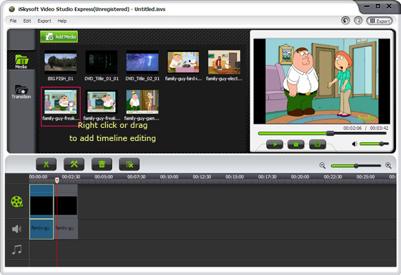iSkysoft Video Studio Express for Windows