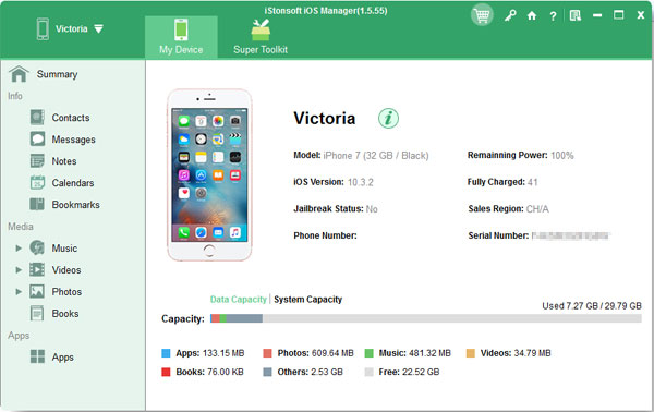 iStonsoft iOS Manager