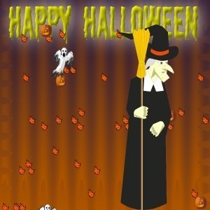 Halloween Witch Screen Saver