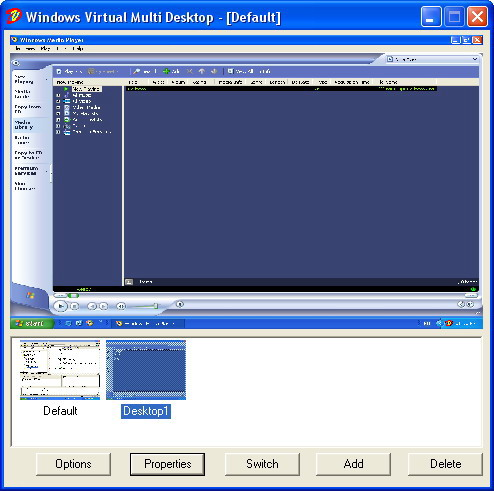 WinVMD - Windows Virtual Multi Desktop