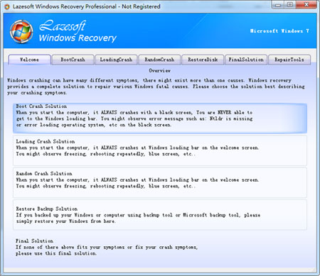 Lazesoft Windows Recovery Professional Edition