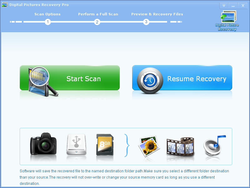 Digital Pictures Recovery Professional