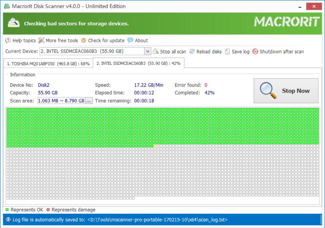 Macrorit? Disk Scanner Unlimited Edition