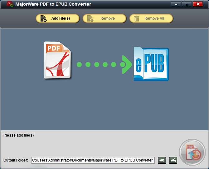 MajorWare PDF to EPUB Converter