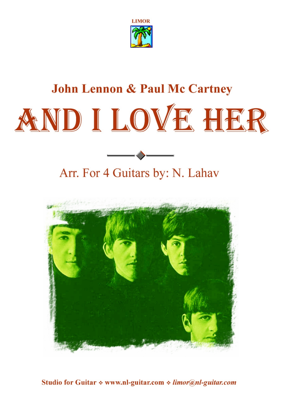 And I Lover Her - Beatles - PDF
