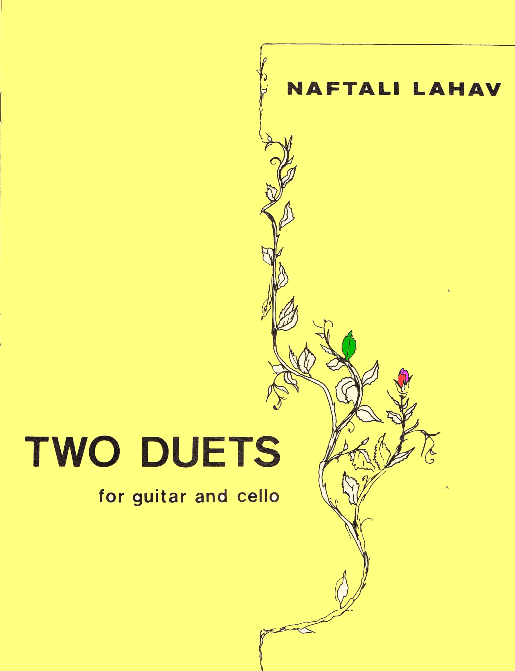 Two Doets for guitar and cello - Hard Copy