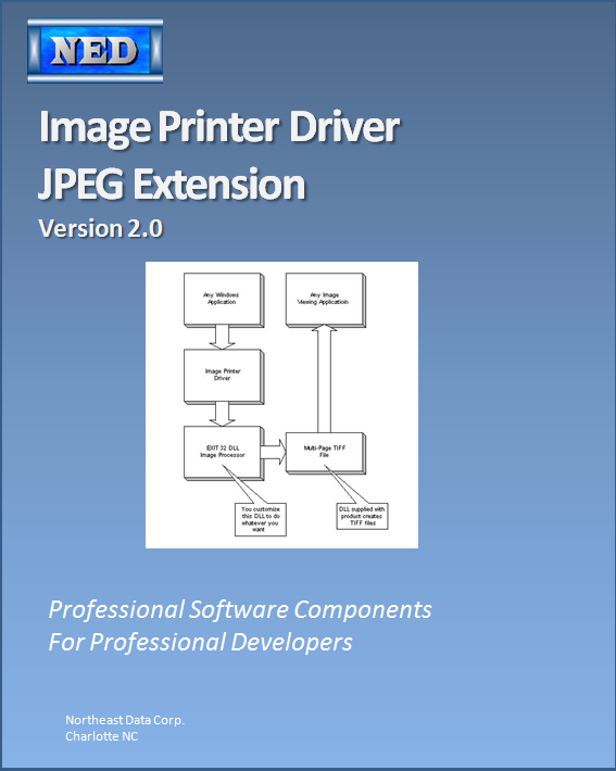 JPEG Exit32 DLL for 2000/XP Image Printer Drivers